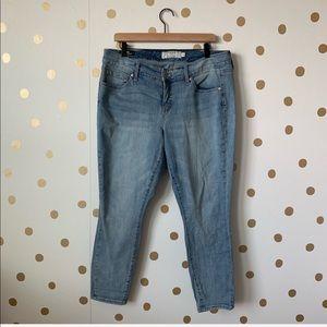 Torrid Light Wash Skinny Jeans Size 14